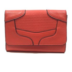 French Connection Red Clutch/Wallet